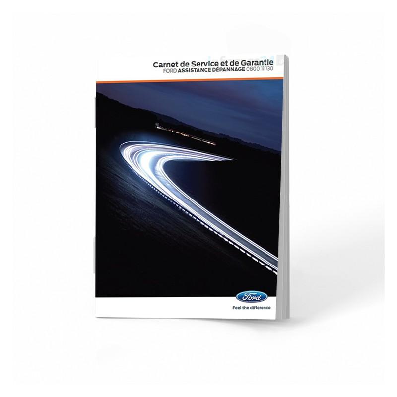 Ford Czysta Francuska Książka Serwisowa 2012