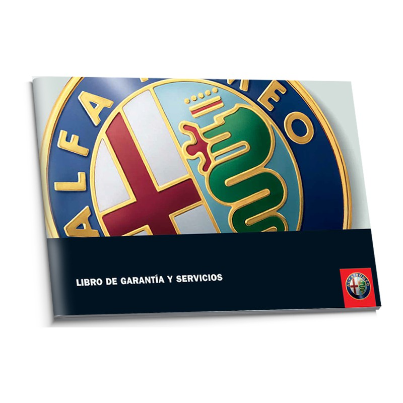 Alfa Romeo Hiszpańska Książka Serwisowa