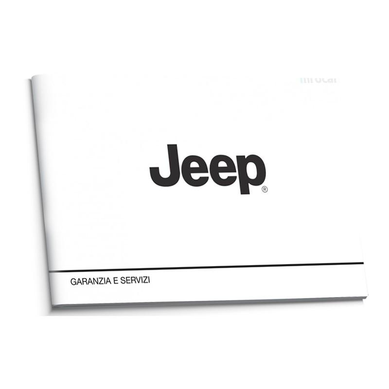Jeep Czysta Nowa Włoska Książka Serwisowa