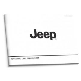 Jeep Czysta Nowa Niemiecka Książka Serwisowa