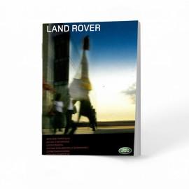 Land Rover Polska Nowa Czysta Książka Serwisowa