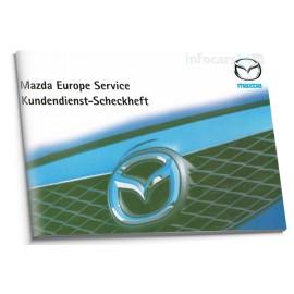 Mazda Niemiecka Czysta Książka Serwisowa 2006-10