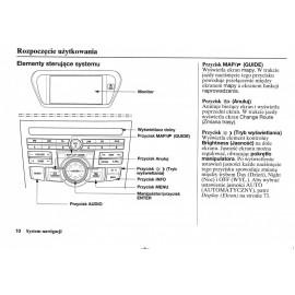 Honda Accord 2008-14+Nawigacja Instrukcja Obsługi