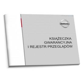 Nissan  Nowa Polska Książka Serwisowa