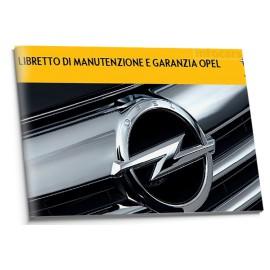 Opel Czysta Włoska Książka Serwisowa 2010-12