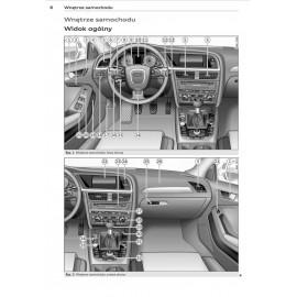 Audi A4 Sedan B8 2008-2012 + Nawigacja Instrukcja
