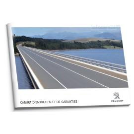 Peugeot Francuska Książka Serwisowa 2010-2012
