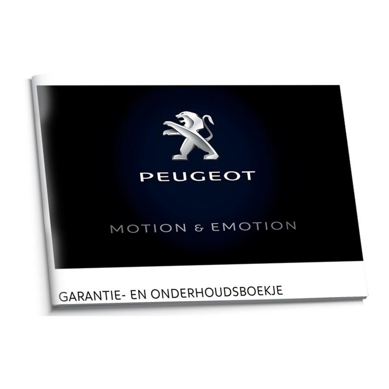 Peugeot Holenderska Książka Serwisowa 2015-2017