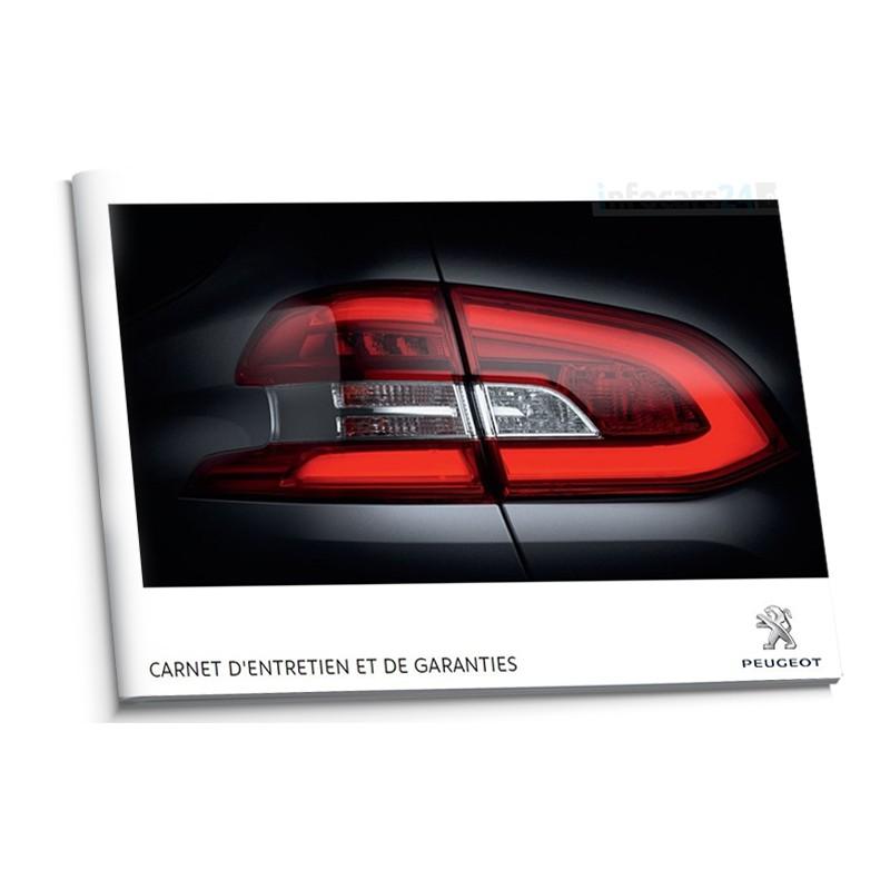 Peugeot Belgijska Książka Serwisowa 2013-2014
