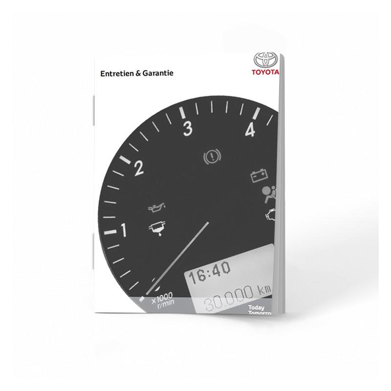 Toyota Czysta Belgijska Książka Serwisowa od 2010