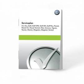 VW Volkswagen Holenderska Książka Serwisowa 17 modeli