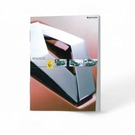 Renault  Niemiecka Książka Serwisowa 13 Modeli