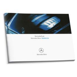 Mercedes Niemiecka Książka Serwisowa 7 Modeli