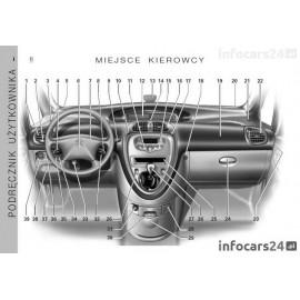 Citroen Xsara Picasso 99-09 +Nawigacja Instrukcja