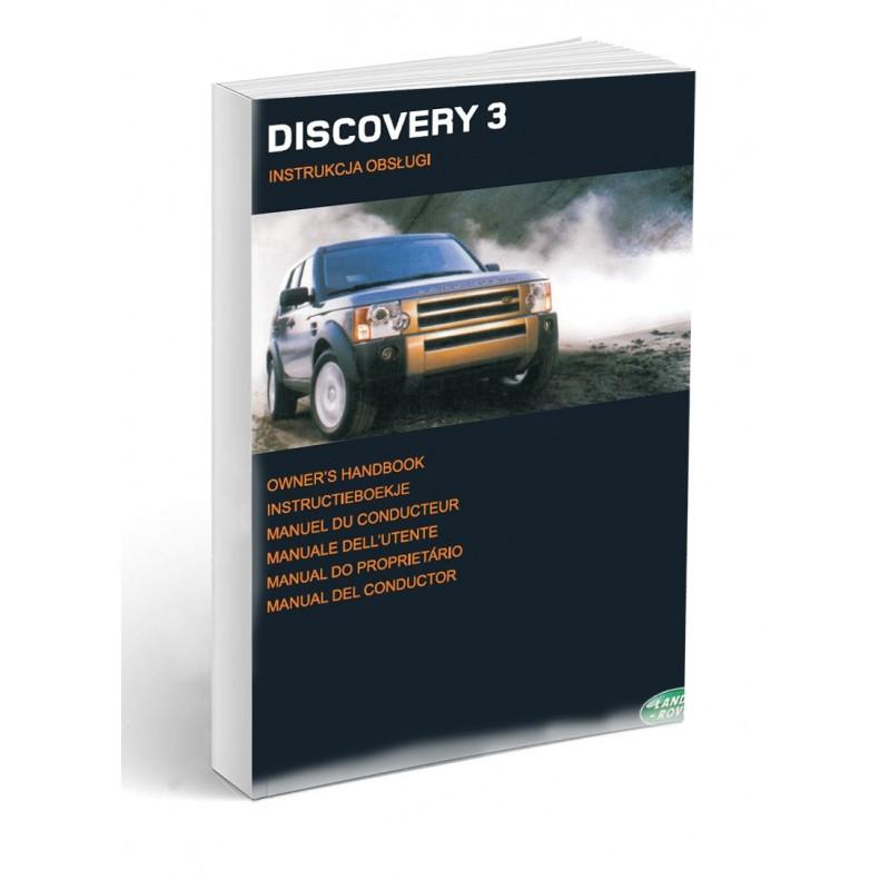 Land Rover Discovery 3 2004-09 Instrukcja Obsługi