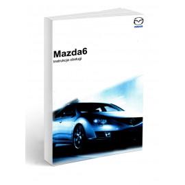 Mazda 6 2007-13 Sedan Kombi+Radio Instrukcja