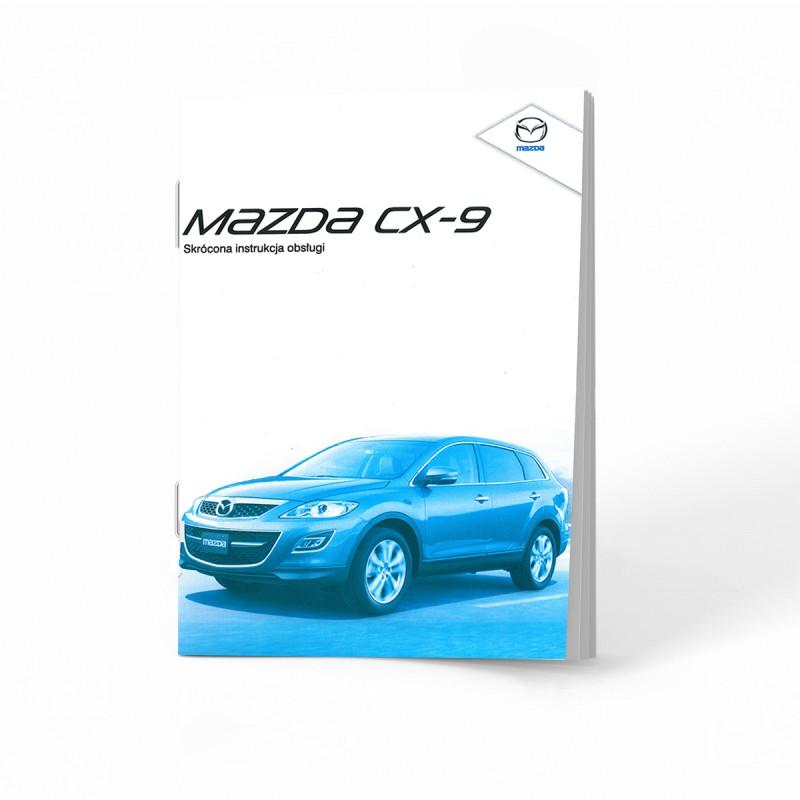 Mazda CX-9 2007-2012 +Radio Instrukcja Obsługi
