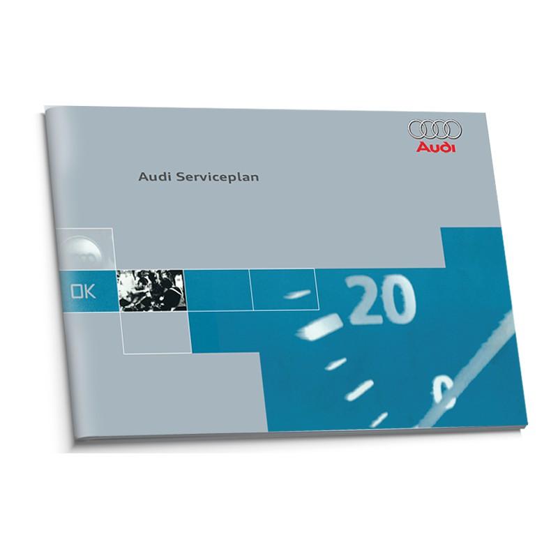 Audi Niemiecka Książka Serwisowa 1995-2000