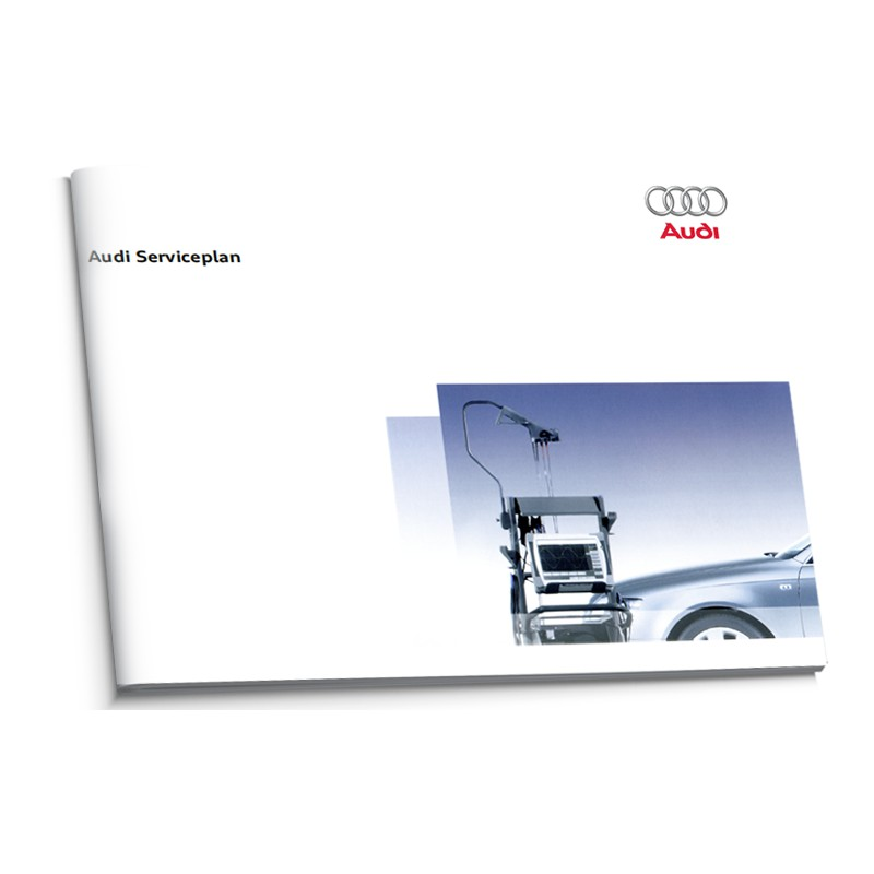 Audi Holenderska  Książka Serwisowa 2005-2010