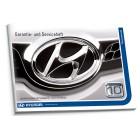 Hyundai Austria Niemiecka Książka Serwisowa do 2012