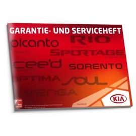 Kia Niemiecka Czysta Książka Serwisowa Gwarancyjna
