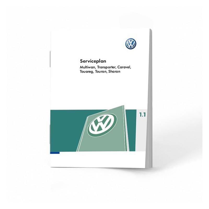 VW Volkswagen Holenderska Książka Serwisowa 6 modeli