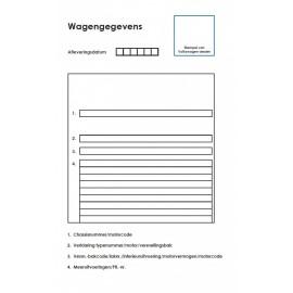 VW Volkswagen Holenderska Książka Serwisowa