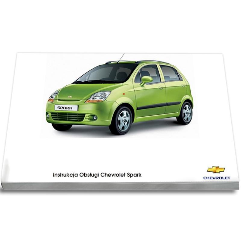 Chevrolet Spark M200 2005-2009 Instrukcja Obsługi
