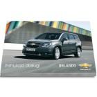 Chevrolet Orlando + Nawigacja Instrukcja Obsługi