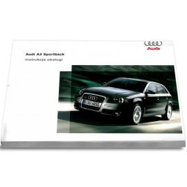 Audi A3 Sportback 2003-08 Nowa Instrukcja Obsługi