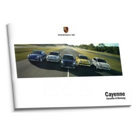 Porsche Cayenne Niemiecka Książka Serwisowa