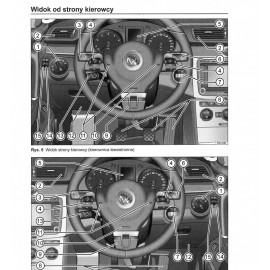 Volkswagen VW Passat Variant B7 od 2010 Instrukcja