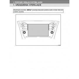 Toyota Avensis Nawigacja od 2015 Instrukcja Obsługi