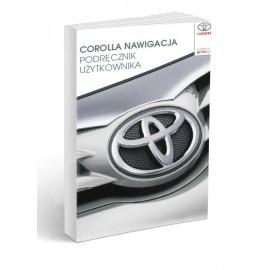 Toyota Corolla Nawigacja+Radio 2013-16 Instrukcja Obsługi