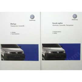 Volkswagen VW Multivan 2003-09 Nowa Instrukcja