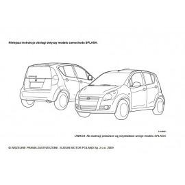 Suzuki Splash 2008-2013 +Radio Instrukcja Obsługi