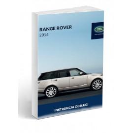 Land Rover Range Rover od 2012 +Nawigacja Instrukcja Obsługi