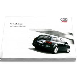 Audi A4 Avant B7 2004-2008 Nowa Instrukcja Obsługi