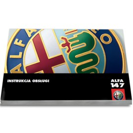 Alfa Romeo 147 2004-10+Radio Instrukcja Obs