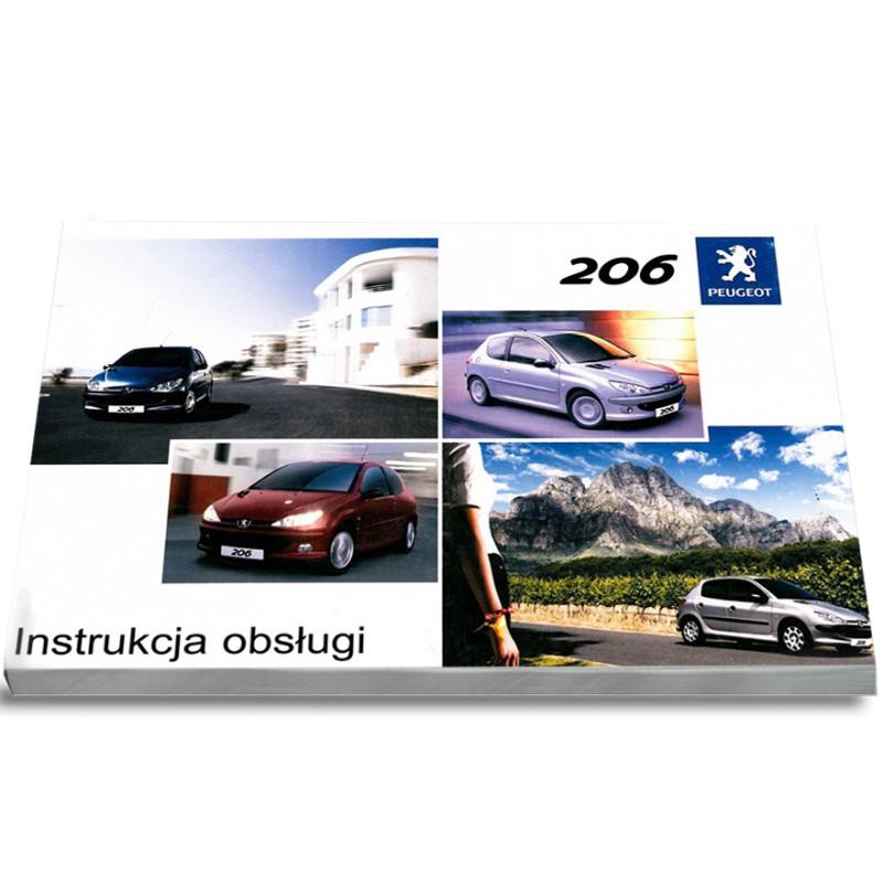 Peugeot 206 2001-2012 3d 5d Nowa Instrukcja Obsługi