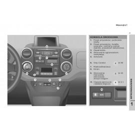 Peugeot Furgon Partner +Radio Instrukcja Obsługi