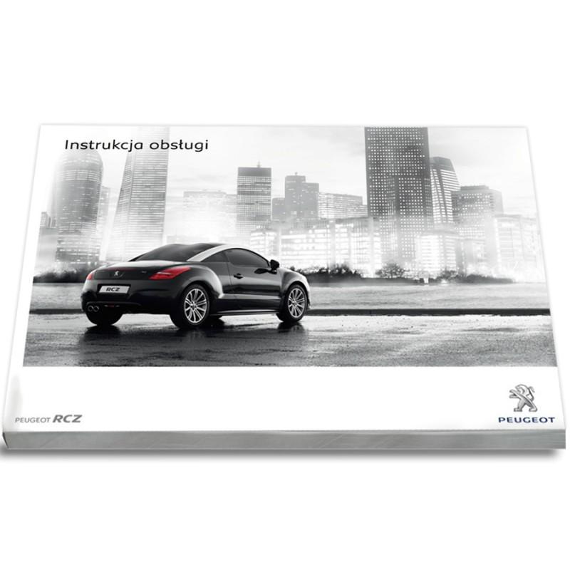 Peugeot RCZ 2009-12+Nawigacja+Radio Instrukcja