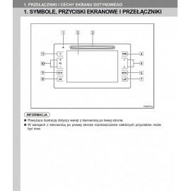 Toyota Touch 2  Go Nawigacja +Radio Instrukcja Obsługi