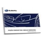 Subaru Polska Czysta Książka Serwisowa