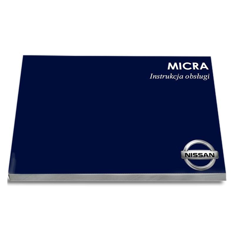 Nissan Micra K11 1998-2002 Nowa Instrukcja Obsługi
