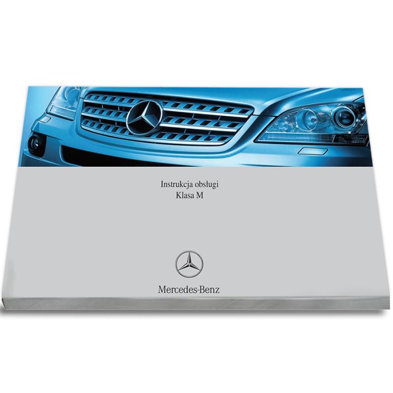 Mercedes ML Klasa W164 2005-08 Nowa Instrukcja