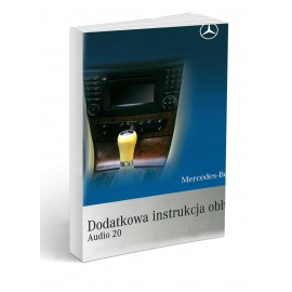 Mercedes Audio20 Radio+Telefon Instrukcja Obsługi