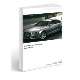 Audi A4 5 wersji Lift 2012-2015 Instrukcja Obsługi