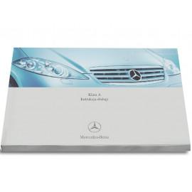 Mercedes A-Klasa W169 2004-12 Nowa Instrukcja