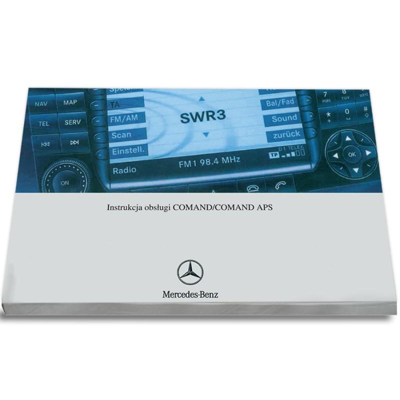 Mercedes Comand APS Nawigacja+Radio Instrukcja
